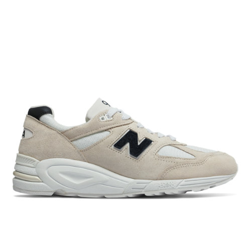 New Balance 990v2 Made in US Men's Made in USA Shoes - Angora (M990WE2)
