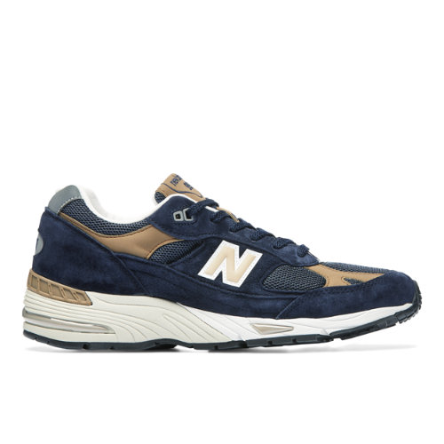 New Balance MADE IN UK 991 Men's Lifestyle Shoes - Navy (M991DNB)
