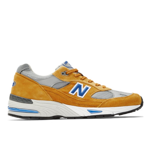 New Balance Made in UK 991 Men's Lifestyle Shoes - Yellow (M991YBG)