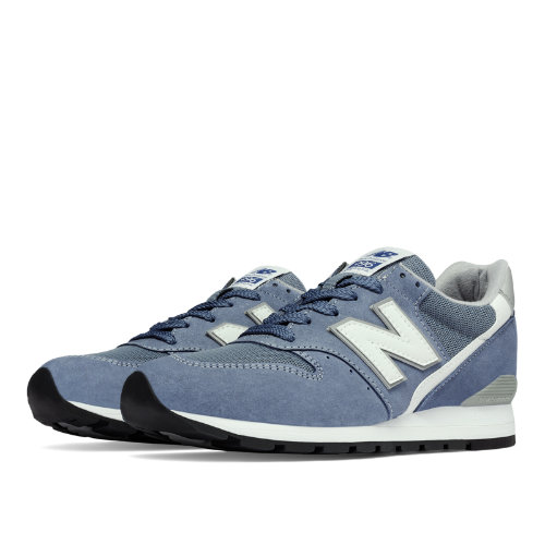 New Balance 996 Age of Exploration Men's Made in USA Shoes - Blue Bell / Silver (M996CHG)
