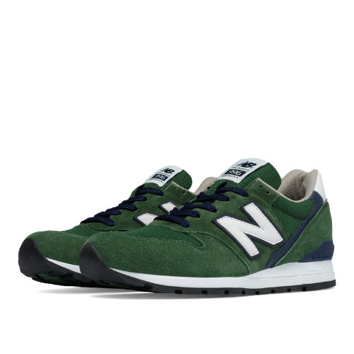 New Balance 996 Heritage Men's Made in USA Shoes - Dark Green / Navy (M996CSL)