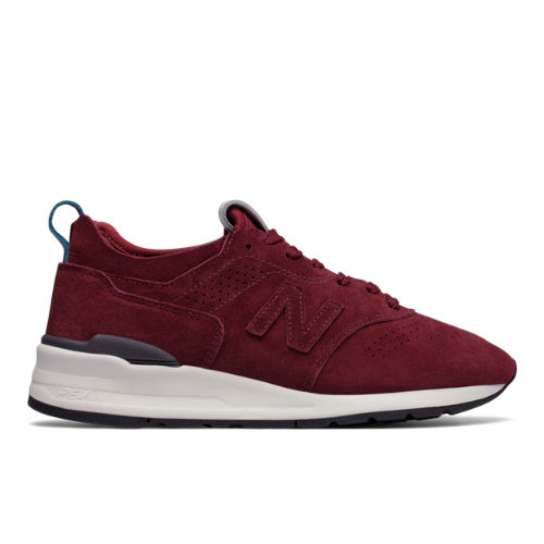 New Balance 997R Men's Made in USA Shoes - Burgundy (M997DC2)