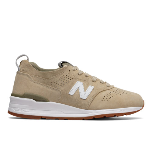 New Balance 997R Made in USA Men's Shoes - Tan / White (M997DRA2)