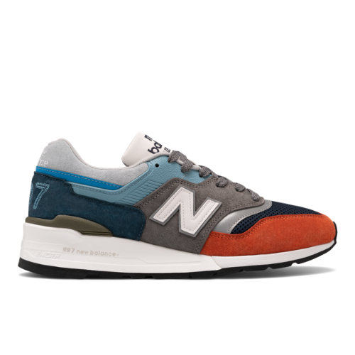 New Balance Made in USA 997 Men's Lifestyle Shoes - Blue / Grey (M997NAG)
