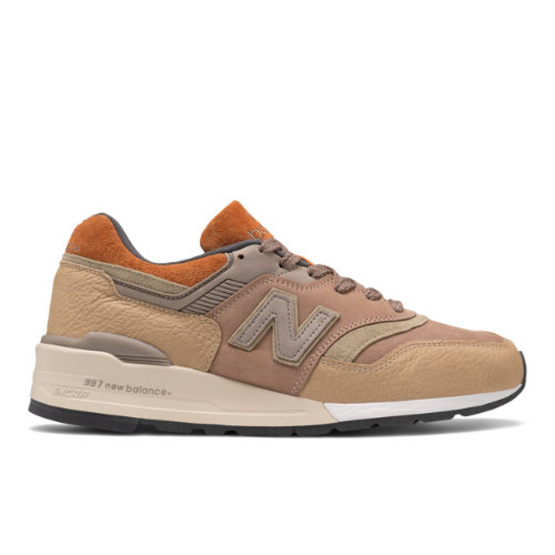 New Balance Made in USA 997 Men's Lifestyle Shoes - Beige (M997NAJ)