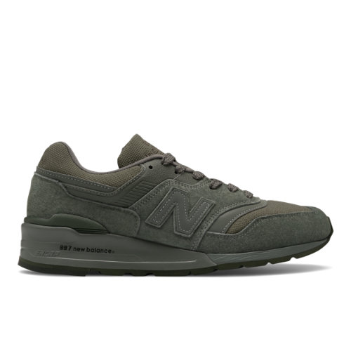 New Balance Made in US 997 Men's Lifestyle Shoes - Dark Green (M997NAL)