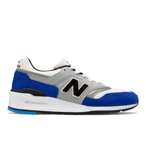 New Balance Made in USA 997 Men's Shoes - Blue / Grey (M997OGA)