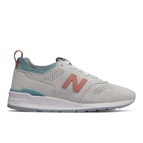New Balance 997R Men's Made in USA Sneakers Shoes - Grey / Blue (M997VB2)