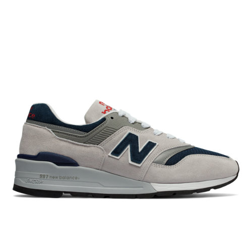 New Balance 997 Made in US Men's Made in USA Shoes - Grey (M997WEB)