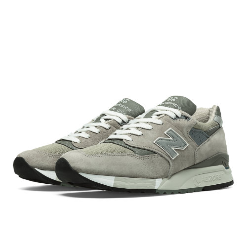 New Balance 998 Bringback Men's Made in USA Shoes - Light Grey, Grey (M998)