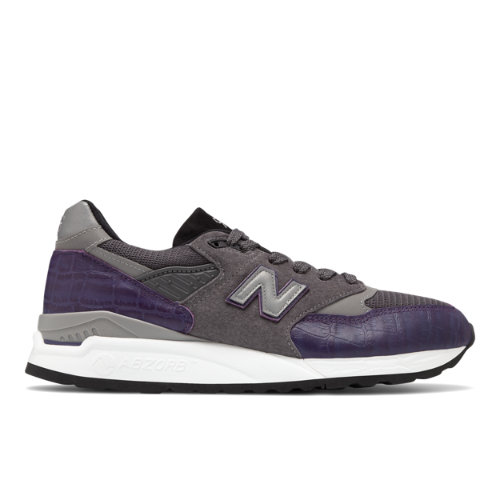 New Balance 998 Made in USA Men's Lifestyle Shoes - Purple / Grey (M998AWH)