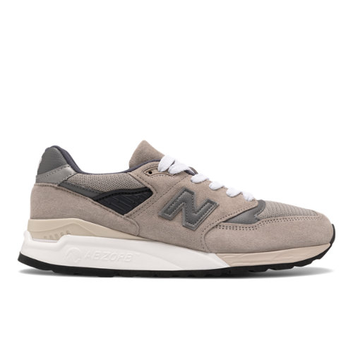 New Balance Made in USA 998 Men's Lifestyle Shoes - Grey (M998BLA)