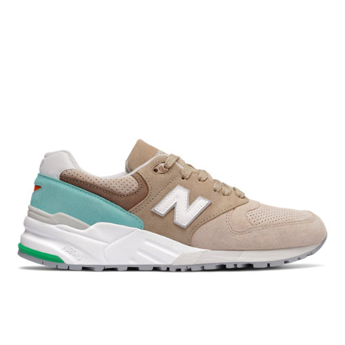 New Balance 999 Made in US Color Spectrum Men's Made in USA Shoes - Beige / Blue (M999CSS)