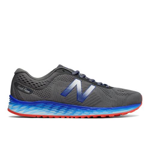 New Balance Fresh Foam Arishi Men's Soft and Cushioned Shoes - Grey / Blue (MARISLG1)