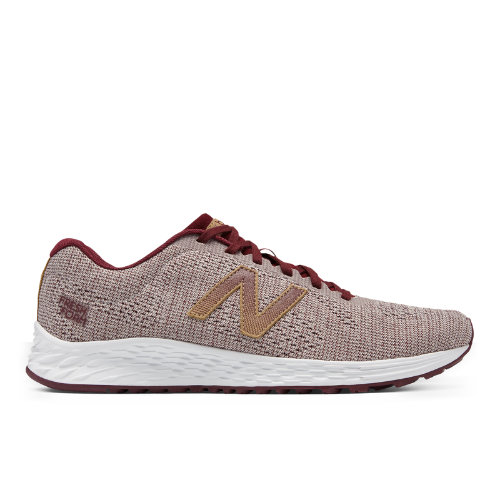 New Balance Fresh Foam Arishi Vintage Men's Soft and Cushioned Running Shoes - Dark Red / Grey (MARISRO1)