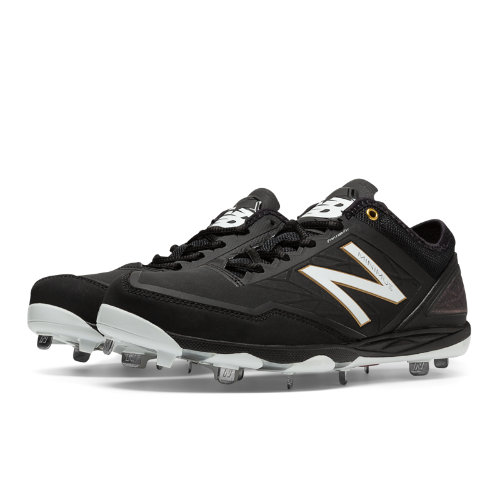 New Balance Low-Cut Minimus Metal Cleat Men's Low-Cut Cleats Shoes - Black (MBBBK)