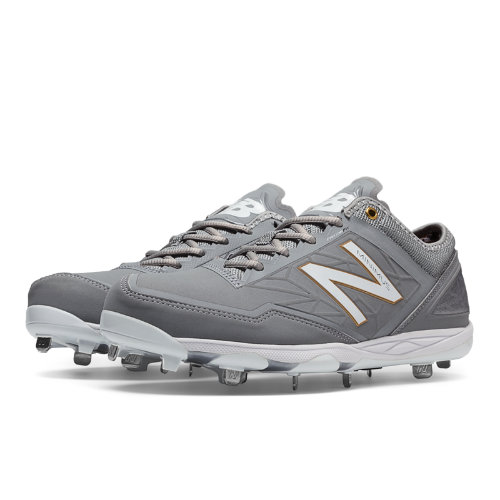 New Balance Low-Cut Minimus Metal Cleat Men's Low-Cut Cleats Shoes - Grey (MBBGR)