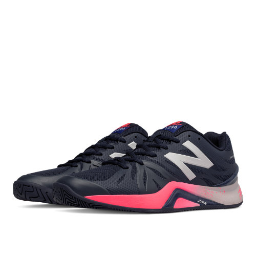 New Balance 1296v2 Men's Shoes - UV Blue / Bright Cherry (MC1296B2)