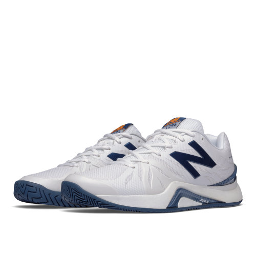 New Balance 1296v2 Men's Tennis Shoes - White, Blue (MC1296W2)