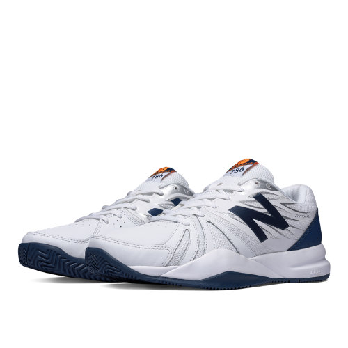 New Balance 786v2 Men's Tennis Shoes - White, Blue (MC786WB2)