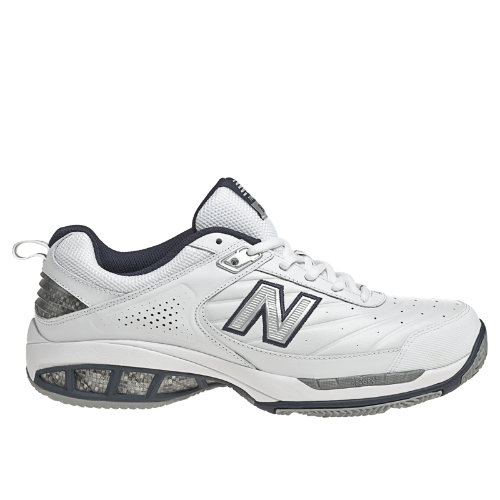 New Balance 806 Men's Shoes - White, Navy (MC806W)