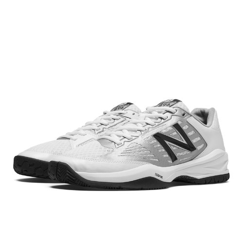 New Balance 896 Men's Tennis Shoes - White, Silver, Navy (MC896WB1)