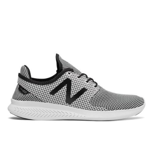 New Balance FuelCore Coast v3 Men's Speed Shoes - Grey / Black (MCOASLK3)