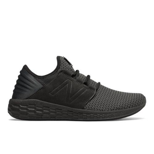 New Balance Fresh Foam Cruz v2 Nubuck Men's Running Shoes - Black (MCRUZNB2)