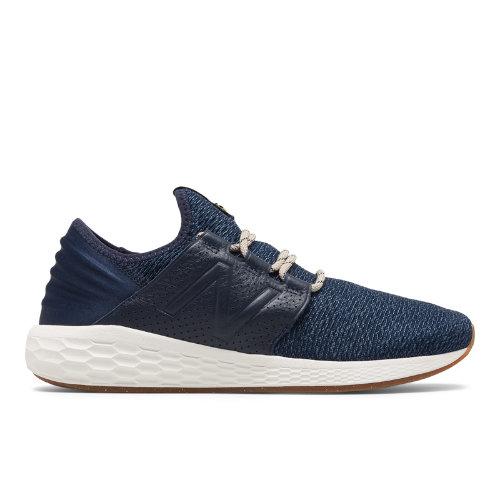 New Balance Fresh Foam Cruz v2 Brooklyn Half Men's Neutral Cushioned Shoes - Navy / White (MCRUZNY2)