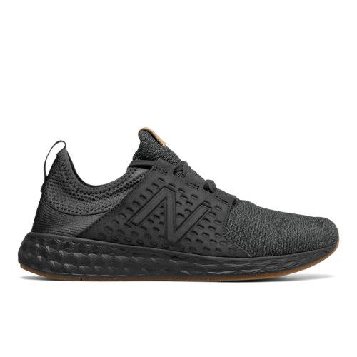 New Balance Fresh Foam Cruz Men's Soft and Cushioned Running Shoes - Black (MCRUZOP)