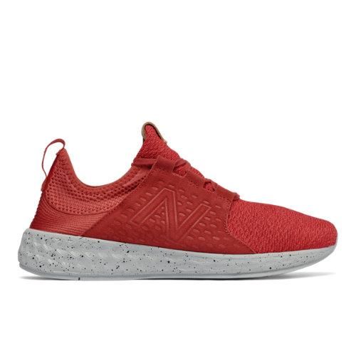 New Balance Fresh Foam Cruz Men's Soft and Cushioned Running Shoes - Red / Black (MCRUZOR)