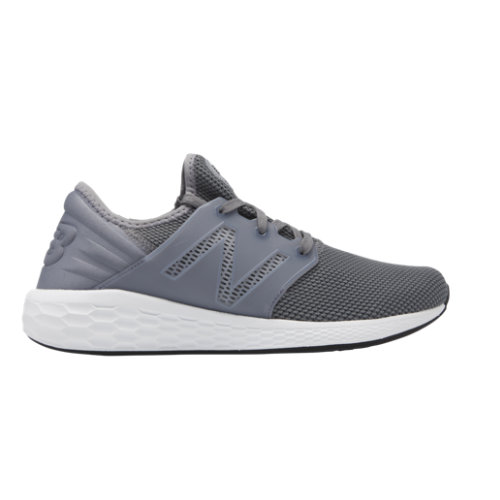 New Balance Fresh Foam Cruz v2 Sport Men's Neutral Cushioned Shoes - Grey / White (MCRUZRG2)