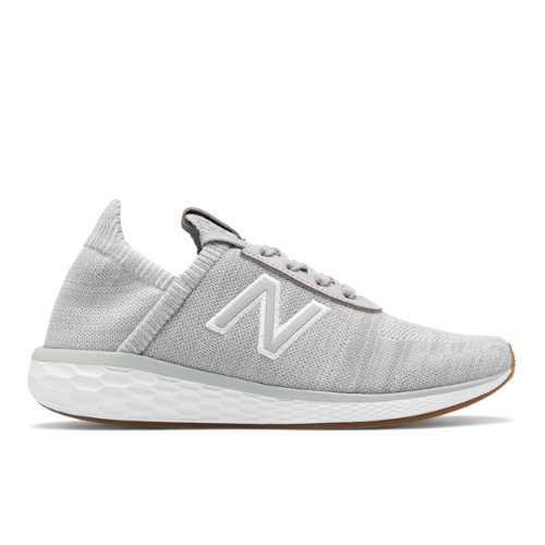 New Balance Fresh Foam Cruz v2 Sock Men's Made in USA Shoes - Grey (MCRZSSS)