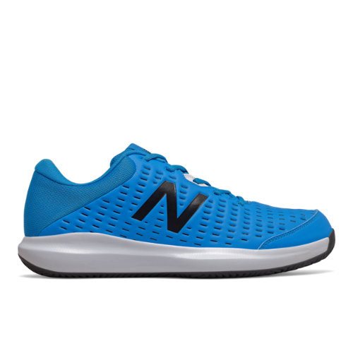 New Balance Clay Court 696v4 Men's Tennis Shoes - Blue (MCY696F4)
