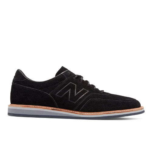 New Balance 1100 Leather Suede Men\u0027s Walking Shoes - Black (MD1100BK)