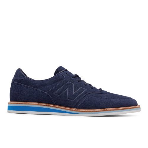 New Balance 1100 Leather Suede Men's Walking Shoes - Navy / Blue (MD1100NV)