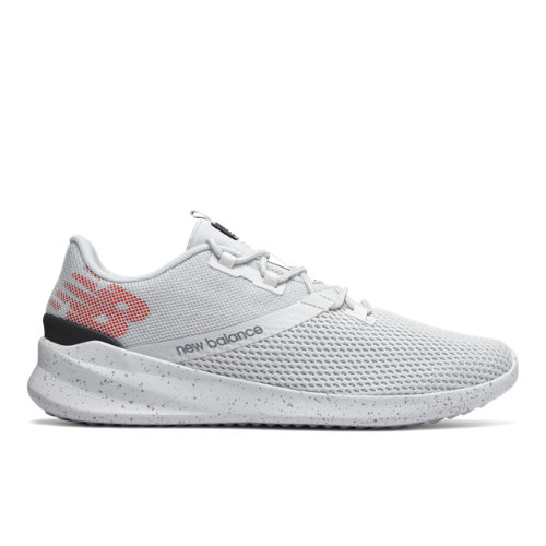 New Balance District Run Men's Running Shoes - White (MDRNBW1)