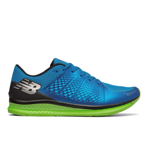 New Balance FuelCell Men's Speed Shoes - Blue / Green (MFLCLBL)