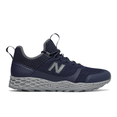New Balance Fresh Foam Trailbuster Men's Outdoor Sport Style Sneakers Shoes - Navy / Grey / Silver (MFLTBDVP)