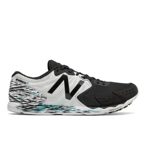 New Balance Hanzo S Men's Racing Flats Shoes - Black / White (MHANZSM1)