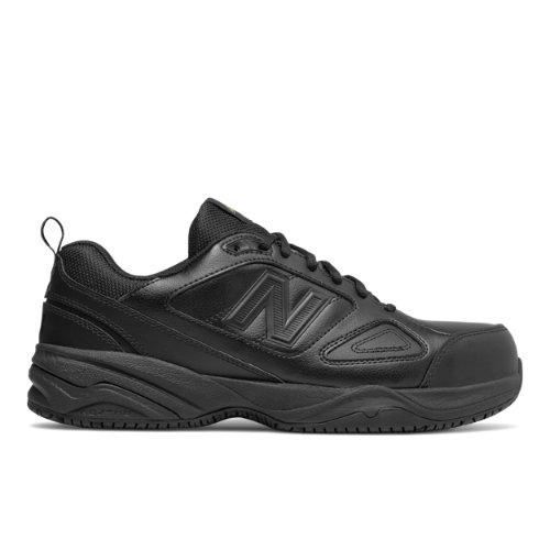 New Balance Steel Toe 627v2 Leather Men's Work Shoes - Black (MID627B2)