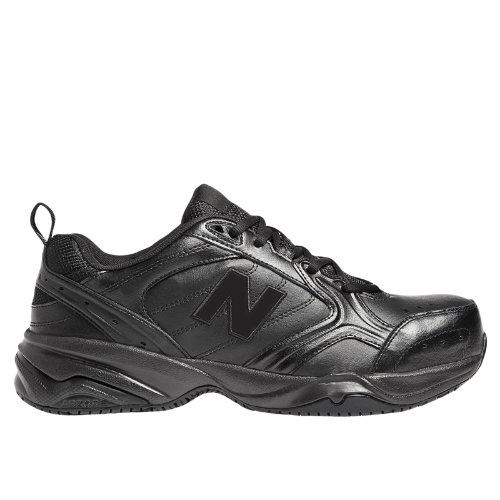 New Balance Steel Toe 627 Leather Men's Work Shoes - Black (MID627B)