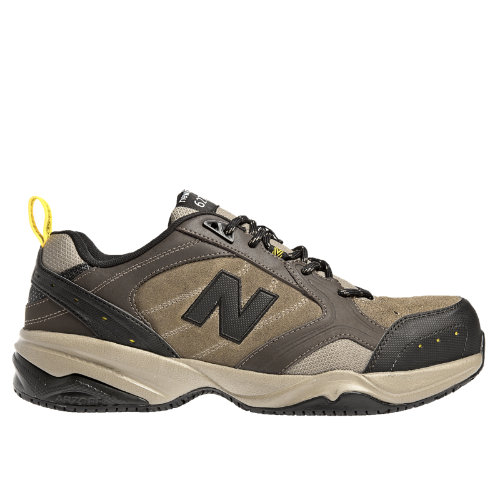 New Balance Steel Toe 627 Suede Men's Work Shoes - Brown (MID627O)