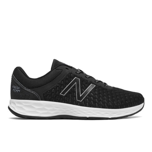 New Balance Fresh Foam Kaymin Men's Soft and Cushioned Shoes - Black / White (MKAYMLK1)
