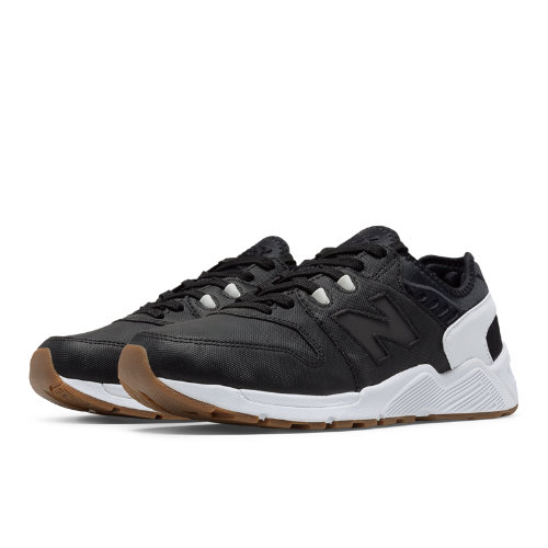 New Balance 009 Men's Sport Style Sneakers Shoes - Black / White (ML009UTB)