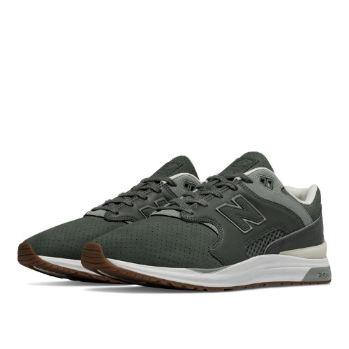 New Balance 1550 Leather Men's Sport Style Sneakers Shoes - Green (ML1550OT)