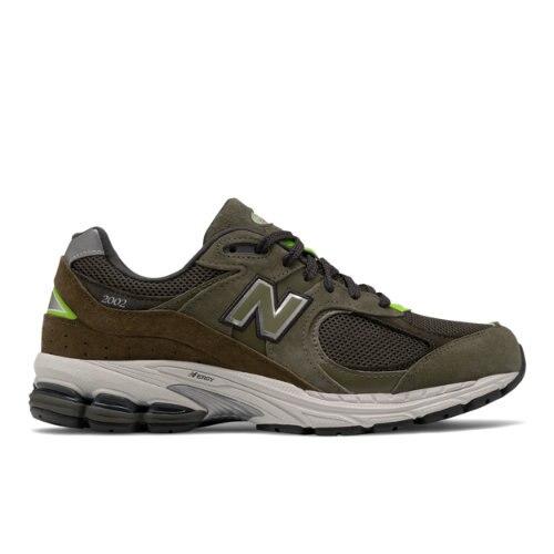 New Balance 2002R Men's Lifestyle Shoes - Green (ML2002RG)