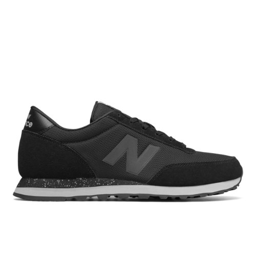 New Balance 501 Men's Running Classics Sneakers Shoes - Black / Grey (ML501NFF)
