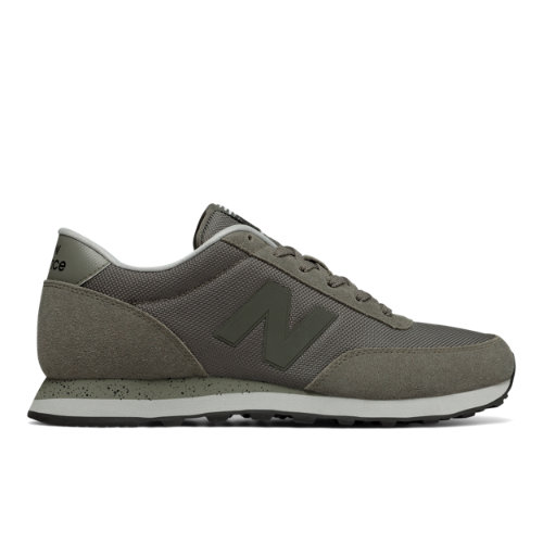 New Balance 501 Men's Running Classics Sneakers Shoes - Military Green / Silver (ML501NFI)