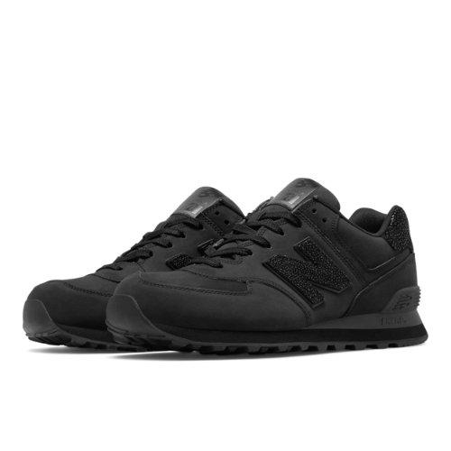 New Balance 574 New Balance Men's 574 Shoes - Black (ML574BEX)